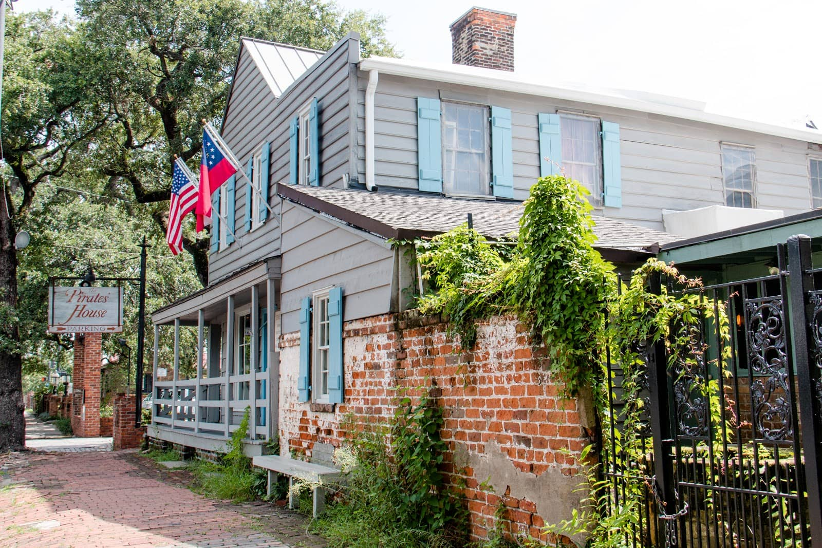 The Pirates' House Savannah restaurant