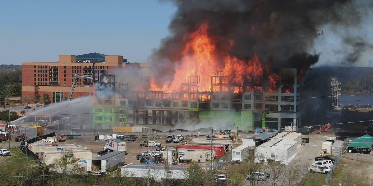 Savannah Eastern Wharf fire