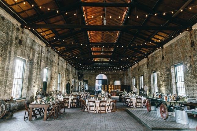 Georgia State Railroad Museum wedding