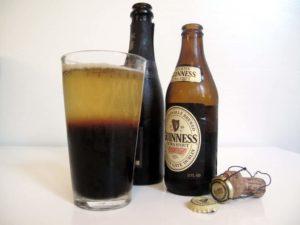 Guinness Black Velvet Cocktail