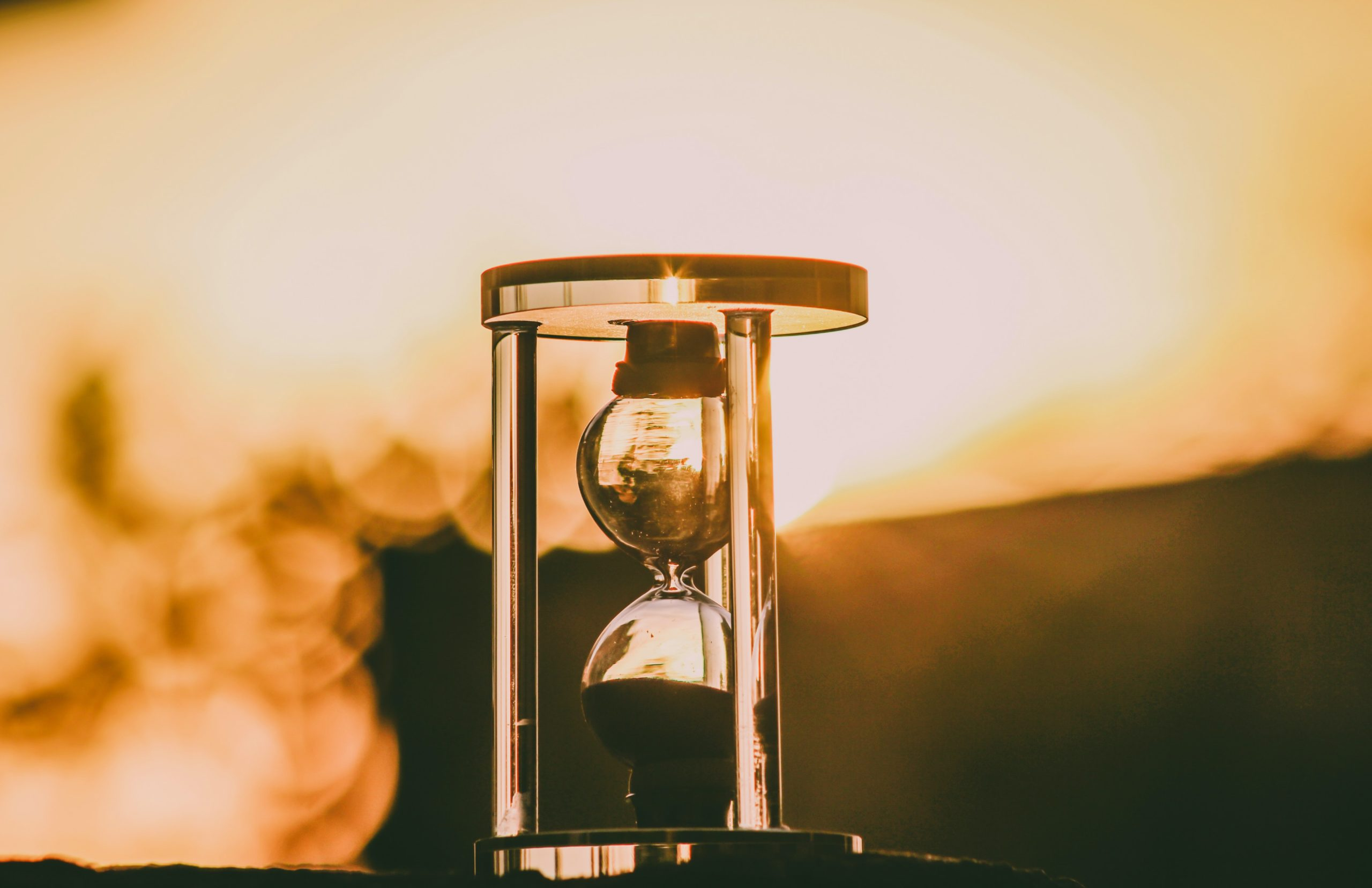 hourglass timeline