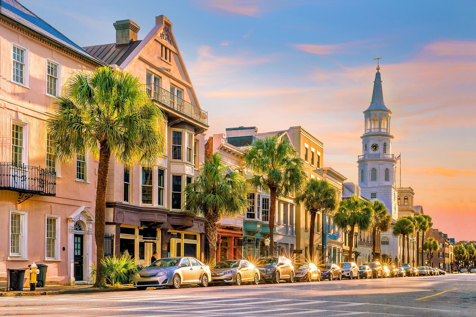 Charleston near Savannah georgia
