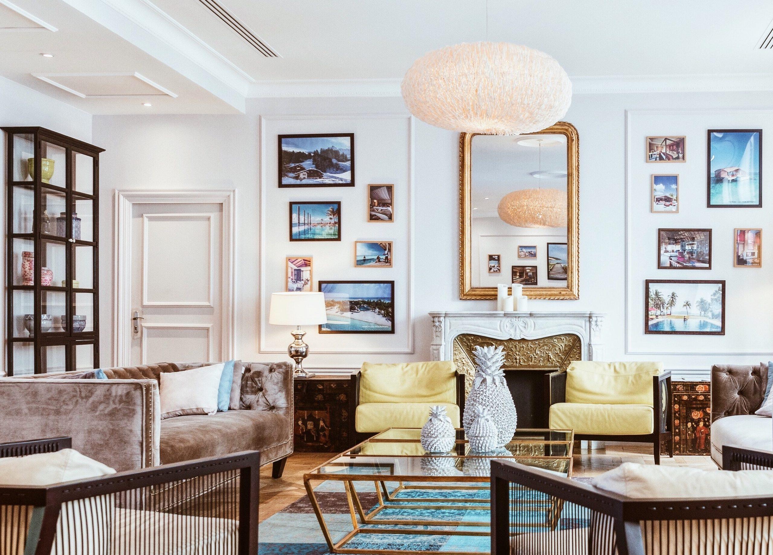 elegant luxury home