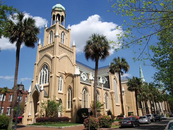 congregation mickve israel savannah gothic revival design vernacular