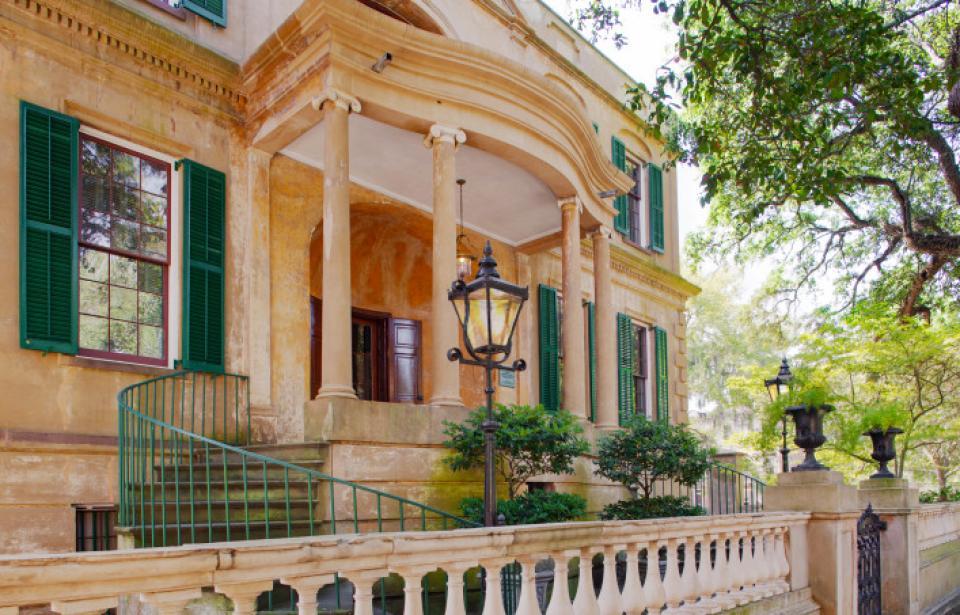 owens-thomas house telfair museum regency architecture