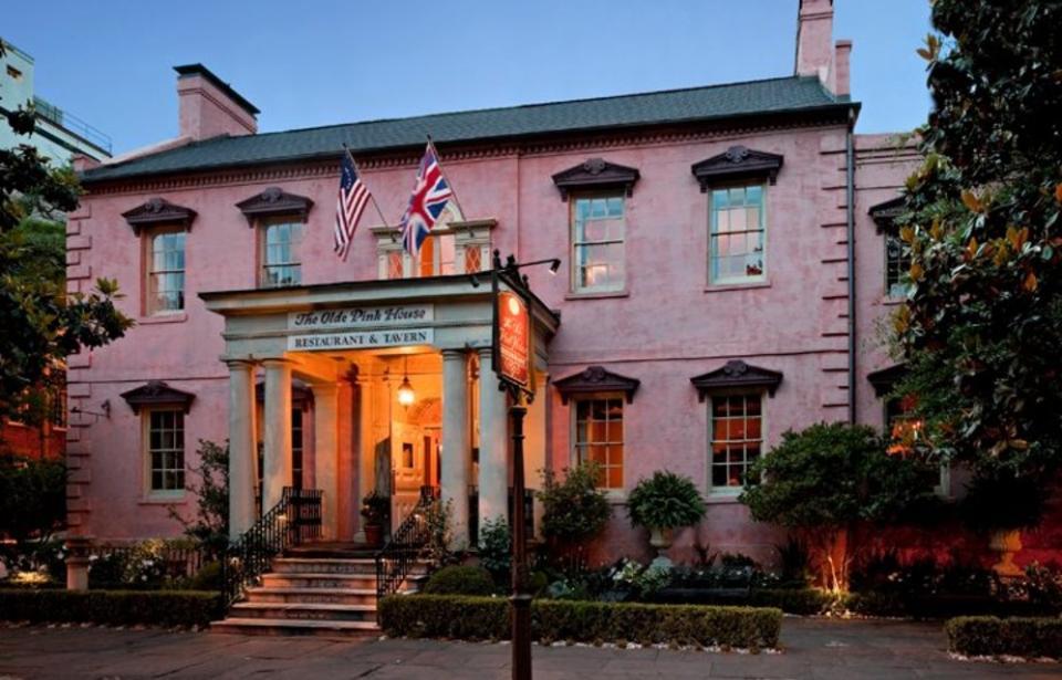 the olde pink house georgian architecture design vernacular
