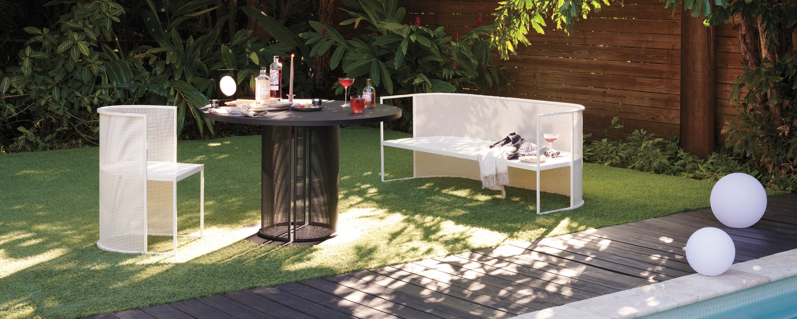Design Within Reach outdoor furnishings