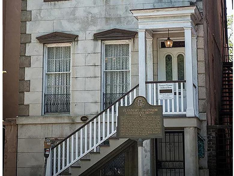 legendary savannah home flanner o'connor house