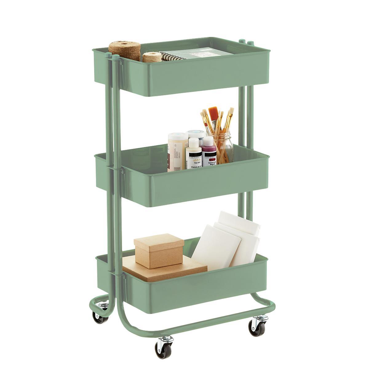 rolling cart organizational tips