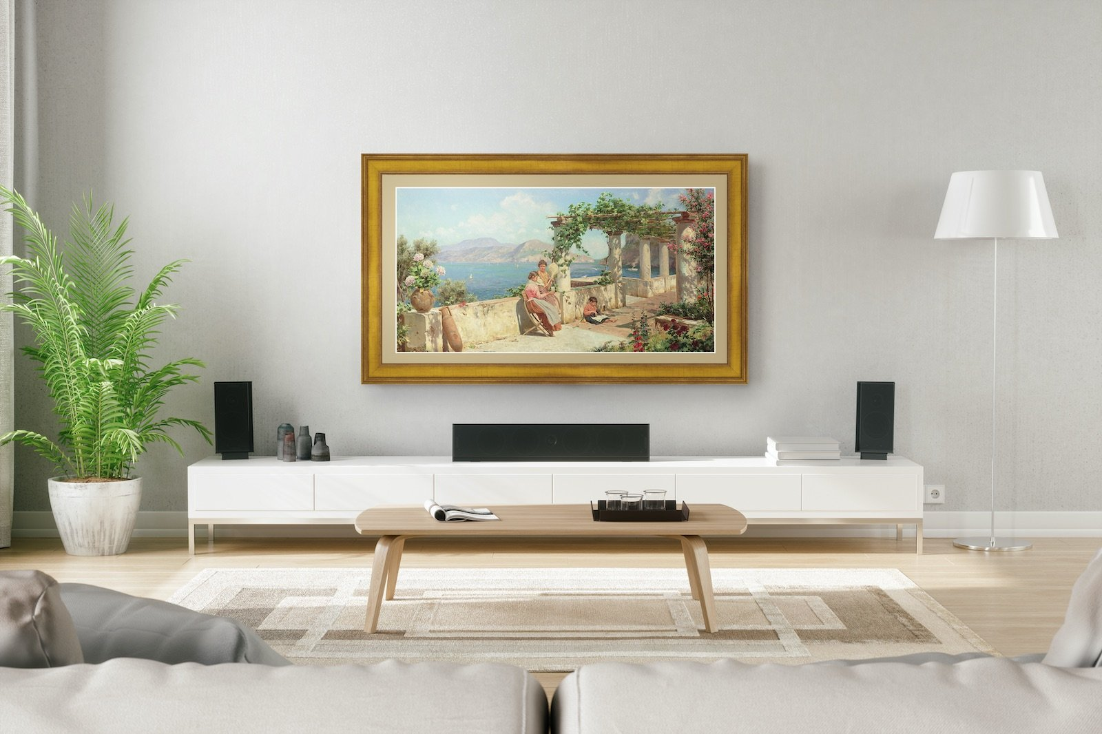 samsung the frame tv for art collectors