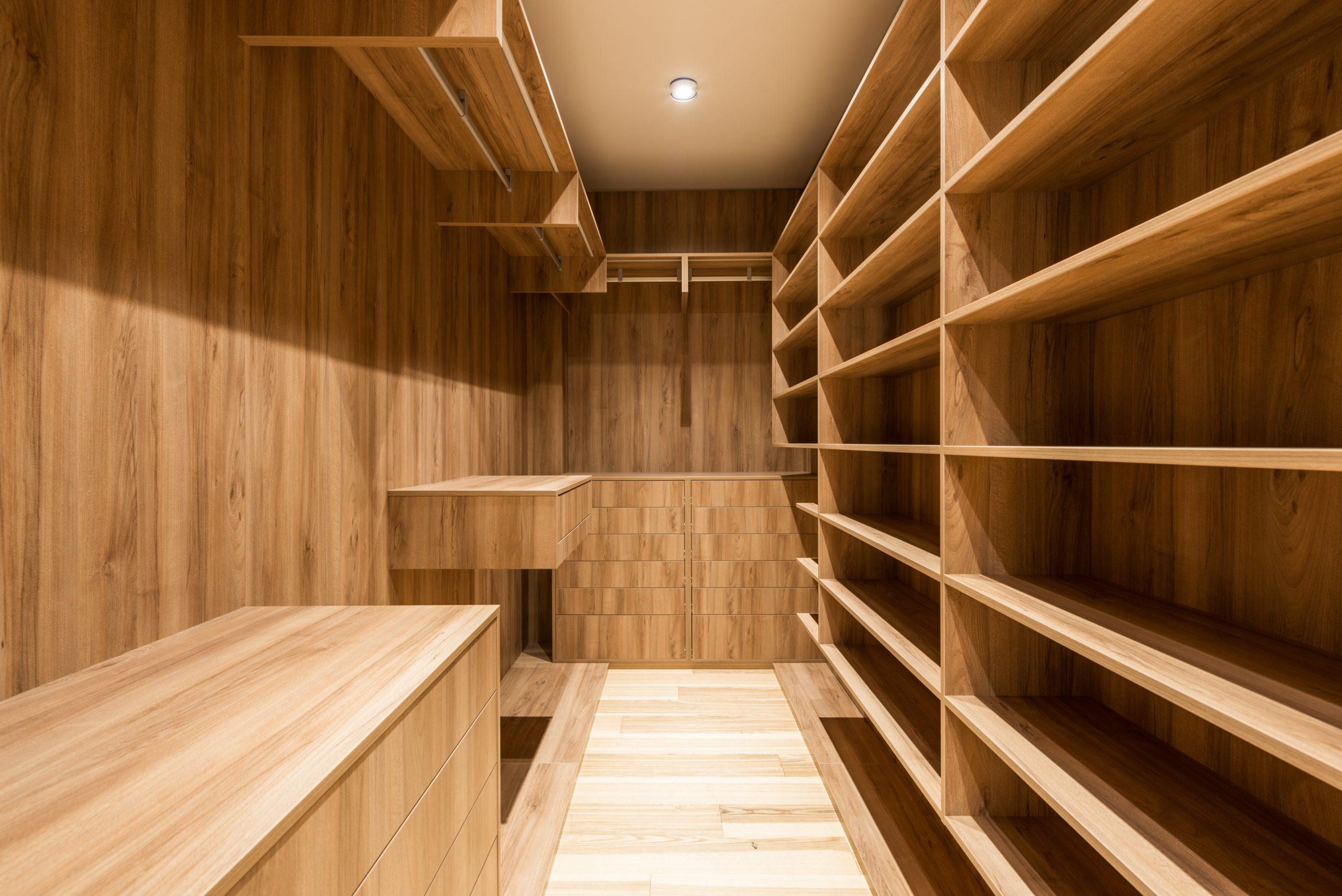 vertical storage organizational tip