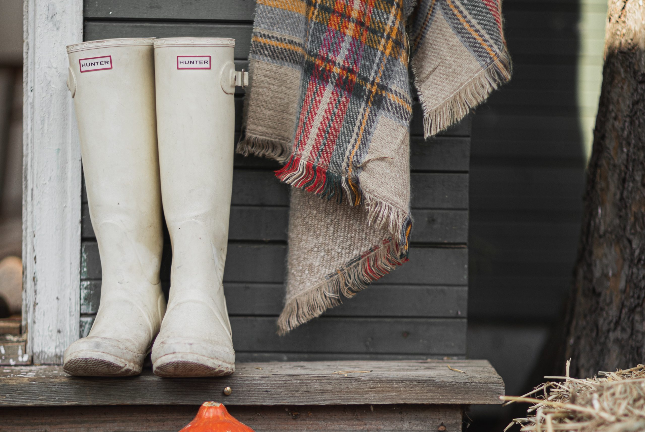 luxury home ideas for the fall season lived-in look boots by door