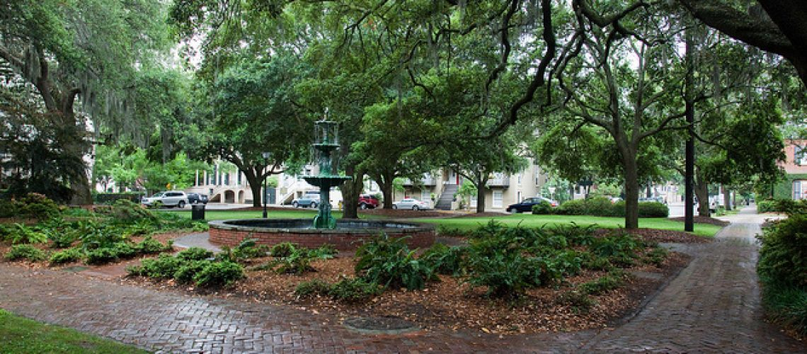 Lafayette Square Savannah